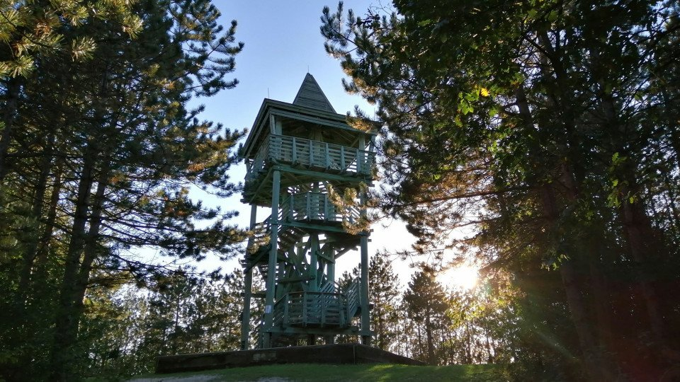 Old Hubertus Lookout Tower